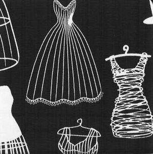 dress form drawing