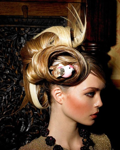 birds nest hair style bird nest hair fashion butter toast boutique s weblog 6905