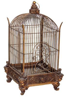 Antique-decorative-bird-cage