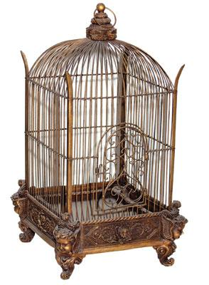 Antique-decorative-bird-cage